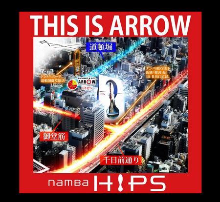 ARROW namBa HIPS PROGRESS & platinum